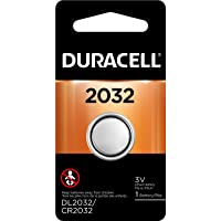 Duracell - 2032 3V Lithium Coin Battery - Long Lasting Battery - 1 Count