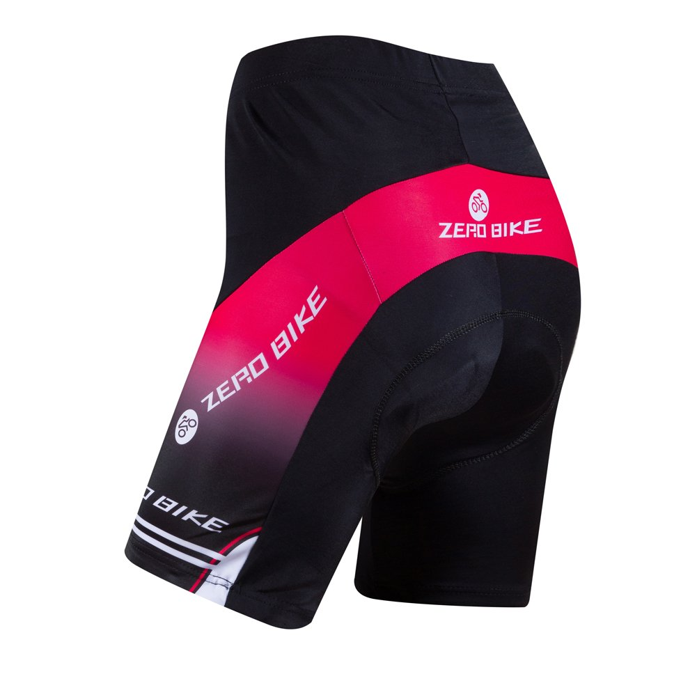 ZEROBIKE Womens Bicycle Cycling Underwear Quick Dry 3D Gel Padded Shorts Pant Breathable Lightweight