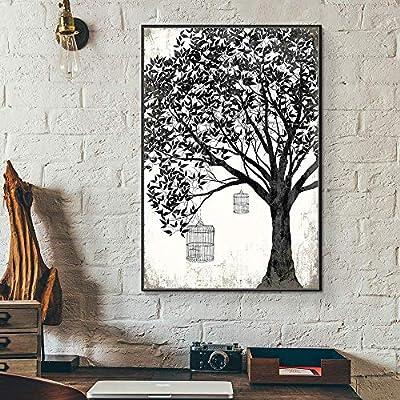 Charming Work of Art, it is good, Floating Framed for Living Room Bedroom for