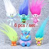 Shalleen DreamWorks Trolls Troll Collection Pack Dolls Set Toys Kids Mini Figure Gift