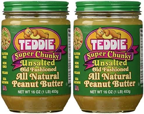 Teddie Super Chunky Peanut Butter