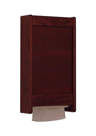 Wooden Mallet C Fold / Multi Fold Paper Towel Dispenser Kit Mahogany ,  Automotive