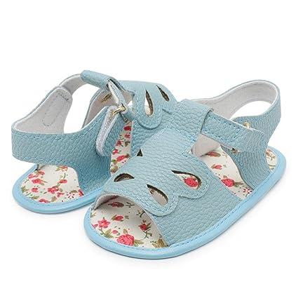 a30406e1c7d9 YJYdada Infant Baby Boy Kids cartoon Crib Shoes Soft Sole Anti-slip Hollow  Sandals Shoes