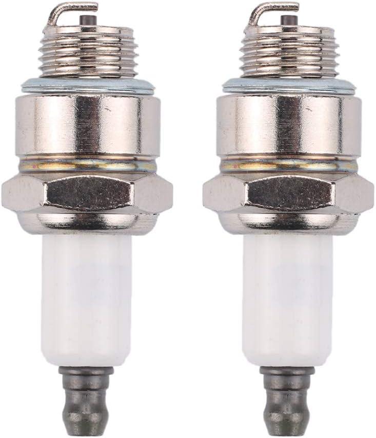 802592, RJ19LM Briggs Stratton 796112-2pk Spark Plug 2 Pack Replaces J19LM