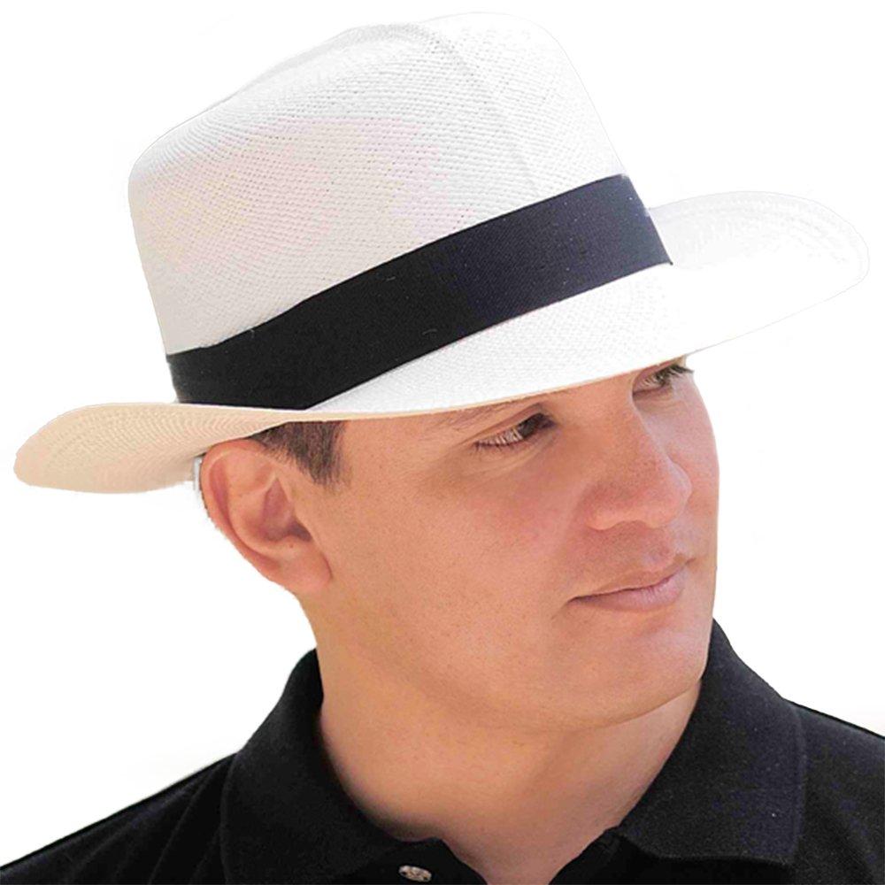 Gamboa Genuine Unisex Panama Straw Optimo Hat Handwoven Colonial Gardening Hat demarpa0027