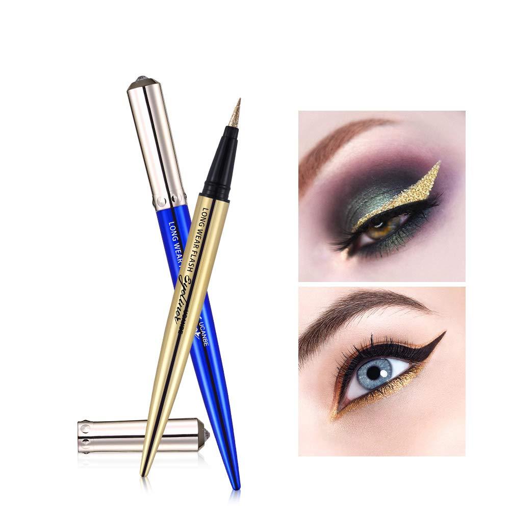 How to blue wear eye pencil rare photo