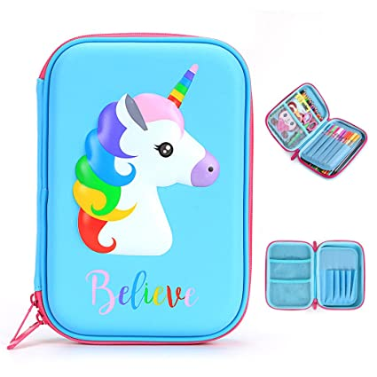 BTSKY - Estuche de lápices para niños con diseño de caballo ...