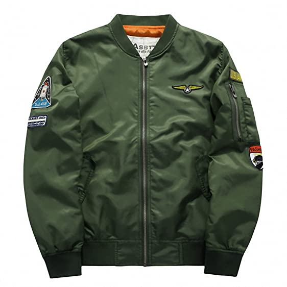 Military Jacket Men Mens MA-1 Style Army Tactical Baseball Jacket Bomber Jackets And Coats
