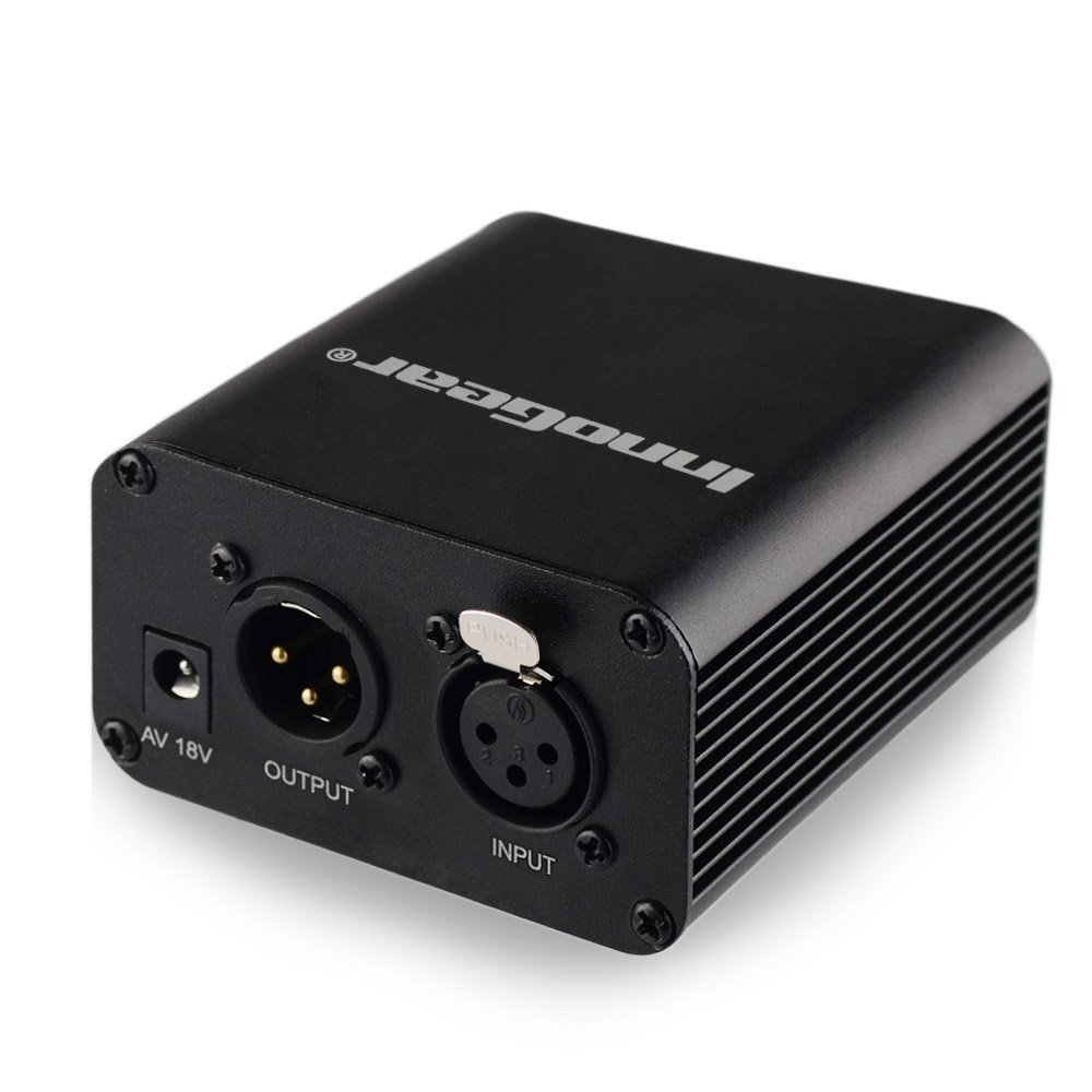 Innogear 1 Channel 48v Phantom Power Supply With Adapter