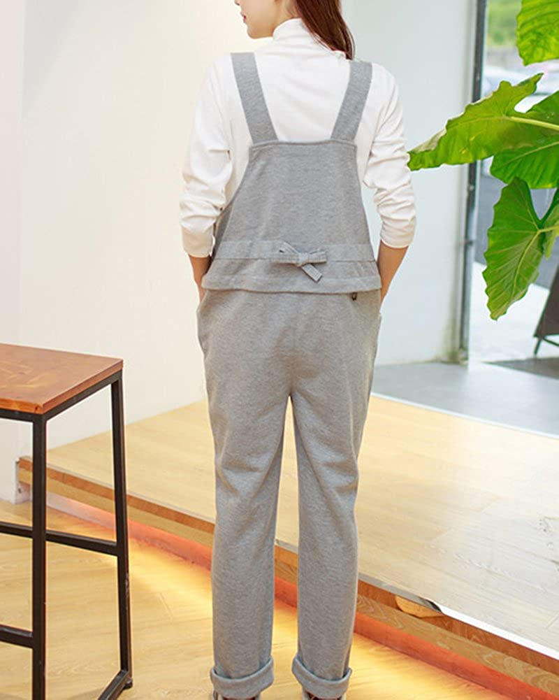 DianShao Mono Embarazada Overall Peto Premam/á Pantalones para Embarazadas para Mujer