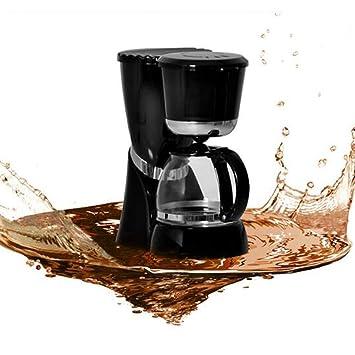 Filtro De Máquina De Café - Máquina De Café Estadounidense - Máquina De Café Por Goteo - Máquina De Café De Uso Doméstico, Aislamiento Automático - Negro: ...