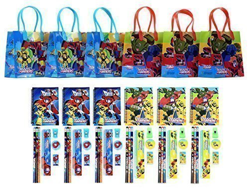Transformers Party Favor Stationery Set - 6 Pack (54 Pcs) ()