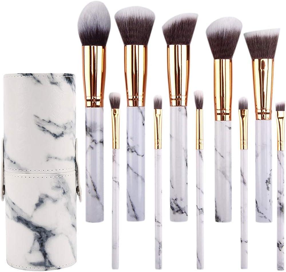 Prime Deals Day Deals 2020-10 brochas de maquillaje de mármol set de regalo