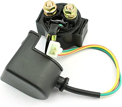 FLYPIG Starter Solenoid Relay for 4-stroke GY6 Engine 50cc 70cc 90cc 110cc...