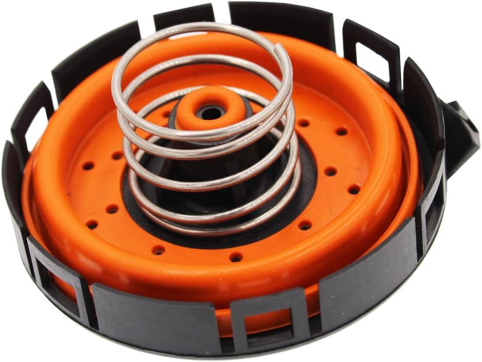 HZYCKJ 2-teiliges Kurbelgeh/äuse-Entl/üftungsventil PCV-Druckregelventilabdeckung OEM # 11127547058 14506018001