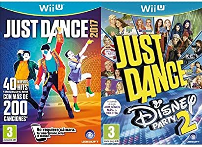 Just Dance 2017 + Just Dance: Disney Party 2 (Wii U): Amazon.es: Videojuegos