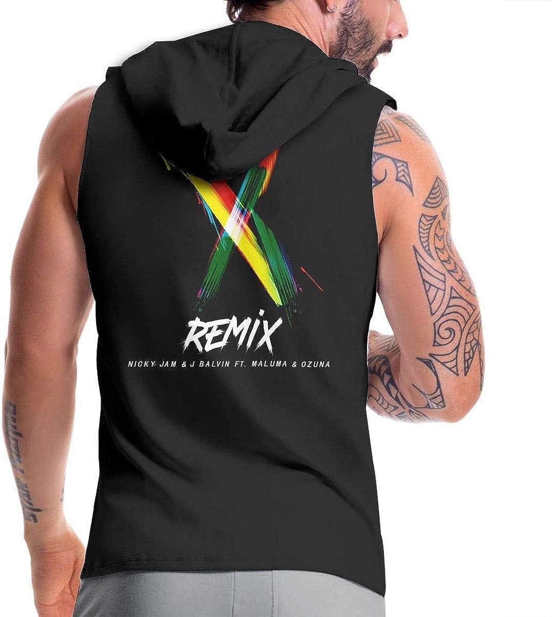 Camisetas sin Mangas con Capucha de Entrenamiento para Hombre ...