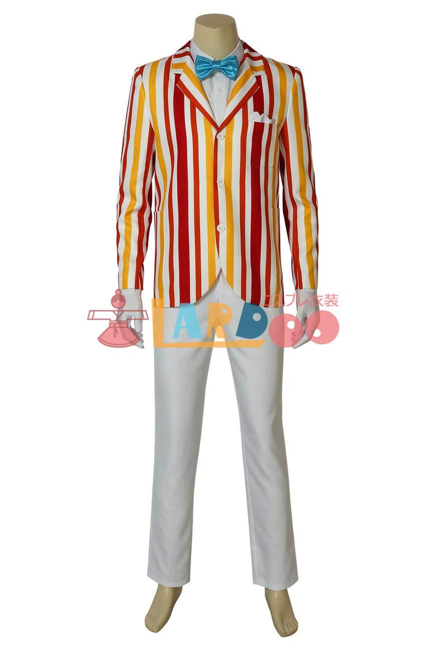 メリーポピンズ Mary Poppins バート コスプレ衣装 B07J39S765   オーダーメイド