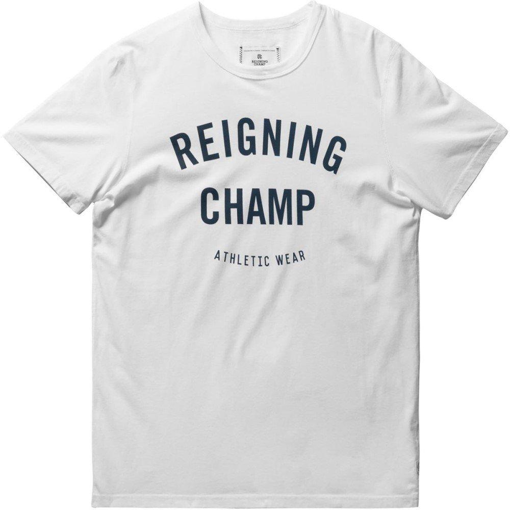 (レイニングチャンプ) Reigning Champ メンズ トップス Tシャツ Gym Logo T - Shirt - Short - Sleeves [並行輸入品]