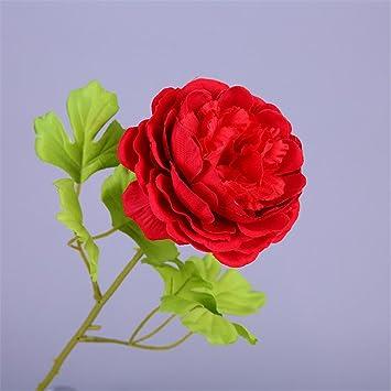 e0e553660 ... color de rosa secos decorativas flores artificiales sala comedor flores  flores de seda Individual prima 1 persona flores artificiales