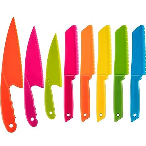 Amazon.com: Jovitec - Juego de 8 cuchillos de cocina de ...
