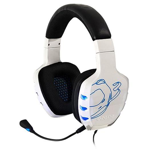 5 opinioni per Ozone Rage 7HX Binaural Head-band White headset- headsets (PC/Gaming, Binaural,