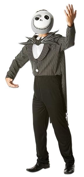 Rubies s oficial Jack Skellington la noche antes de Navidad, disfraz para adultos – tamaño