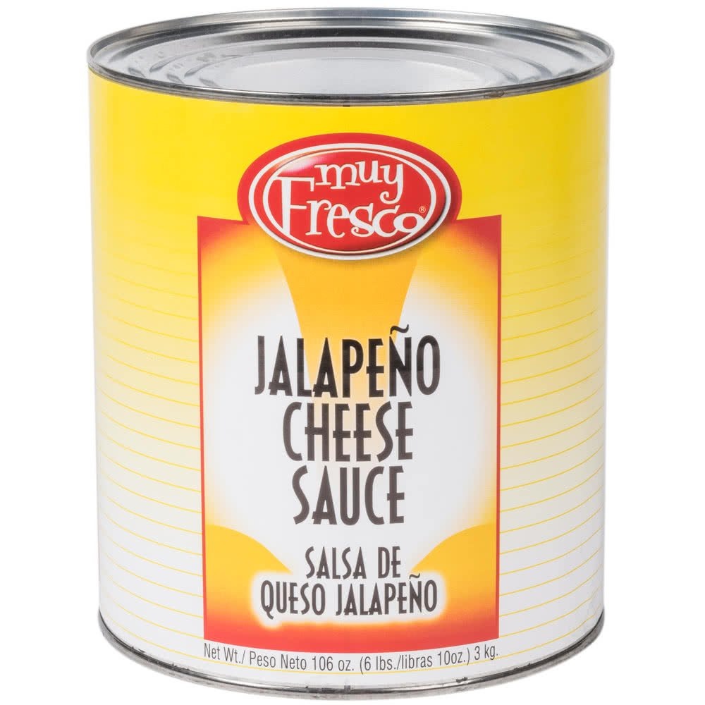 Amazon.com: Muy Fresco Jalapeno Nacho Cheese Sauce #10 Can - 6/Case By TableTop King: Beauty