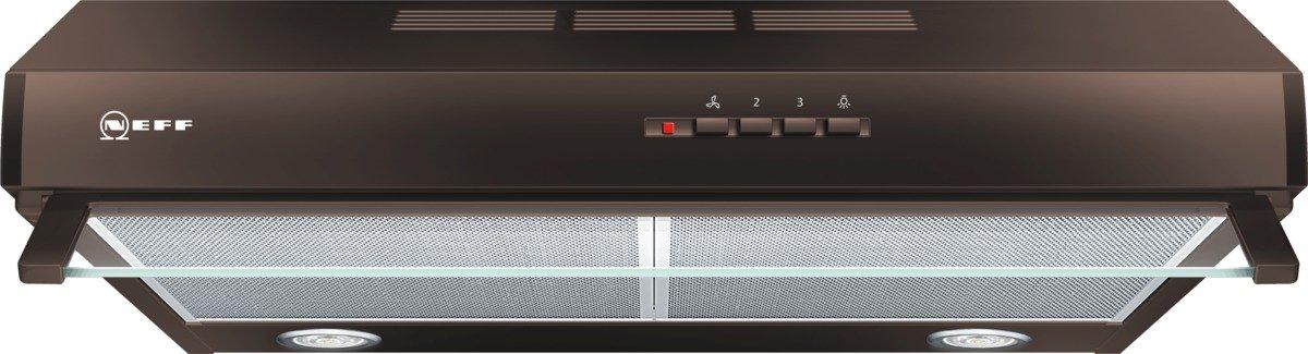 Neff DEB1612B (D16EB12B0) / Unterbauhaube / 60cm / Edelstahl / Wahlweise Abluft- oder Umluftbetrieb [Energieklasse D] DEB 1612 B