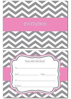 Purple Jean Barrington Hen Party Invitations
