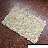 Soft household door mats/Mat/Mat/-Slip absorbent bathroom bed bedroom mat-H 50x80cm(20x31inch) sale 2017