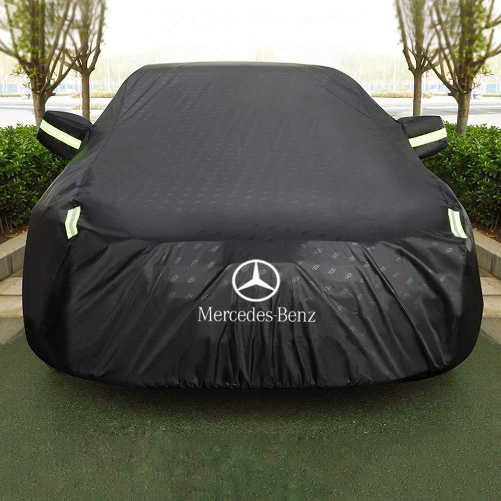 para Invierno y Verano Resistente al Agua para Coche y Garaje Samule para Mercedes-Benz CLA Coup/é Funda Protectora para Coche