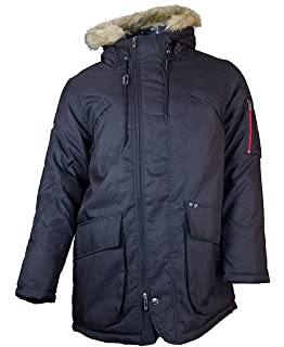 28dd85a7096 Ecko Mens Puffer Quilted Padded Hooded Lightweight Jacket: Amazon.co ...