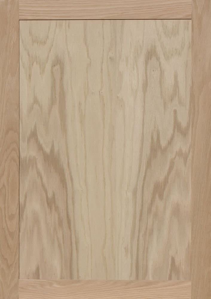 Unfinished Oak Shaker Cabinet Door by Kendor 31H x 9W