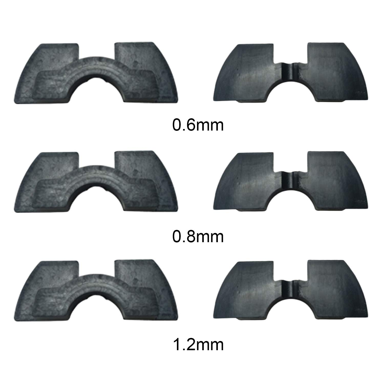 3 Pcs Goma Amortiguadores De Vibración Accesorios De Repuesto Compatibles con Xiaomi Xiao Mi Mijia M365 Scooter Eléctrico