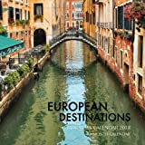 European Destinations Mini Wall Calendar 2018: 16 Month Calendar