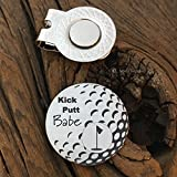 Kick Putt Babe Golf Ball Marker Valentines Gift Kick Putt Hubby Mens Gift Boyfriend Gift Golfer Gift for Husband Gift Guy Gift Christmas Gift for Him