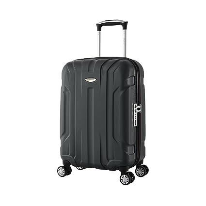 e3082ea69 Eminent Hand Luggage X-TEC 55 cm 40 L Polycarbonate Hard Shell Anti-Scratch