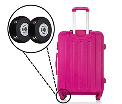d85c1628f08b 55mm Luggage Suitcase Replacement Wheels Axles and Rubber Repair 2 ...