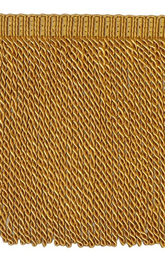- DÉCOPRO 9 Inch Bullion Fringe Trim, Style# BFS9 Color: Antique Gold - 112, Sold by The Yard