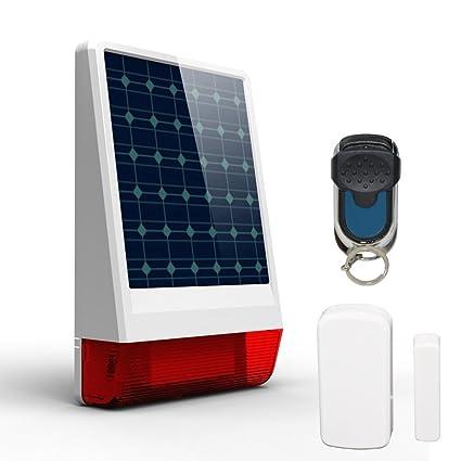 Resistente al agua al intruso antirrobo ABTO solar energía ...