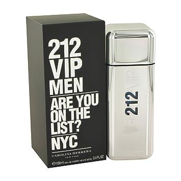 c9ca977d40 Amazon.com : Carolina Herrera 212 Vip 3.4 oz Eau De Toilette Spray for Men  : Beauty
