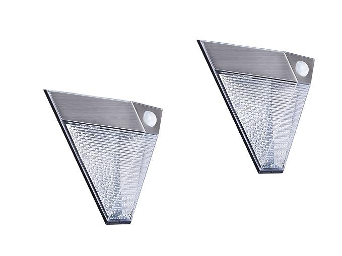 Lampade solari da esterno con sensore acquista applique solare da