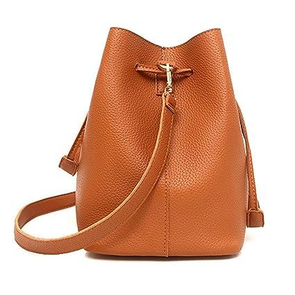 ☀️Amlaiworld Moda Bolsos Mujer baratos Mujer patrón de cuero bolso de hombro  + Bolso bandolera ... e98ac89612d9