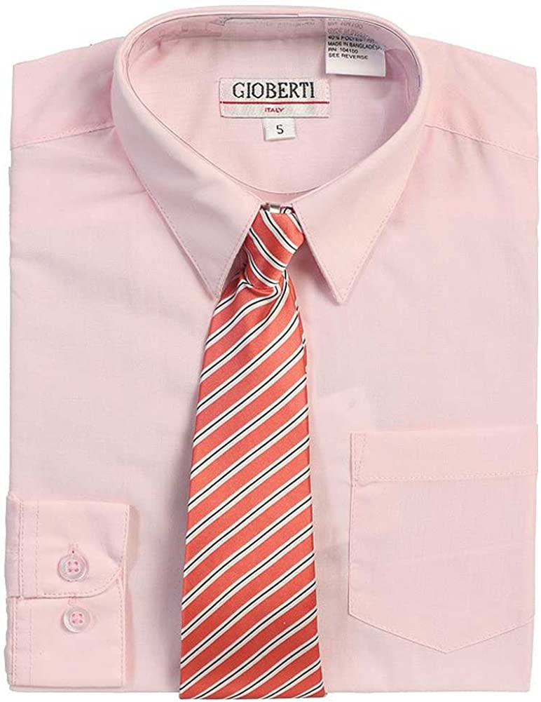 1-14 a/ños Denmark Camisa ni/ños Rosa con Corbata 1000 Ting