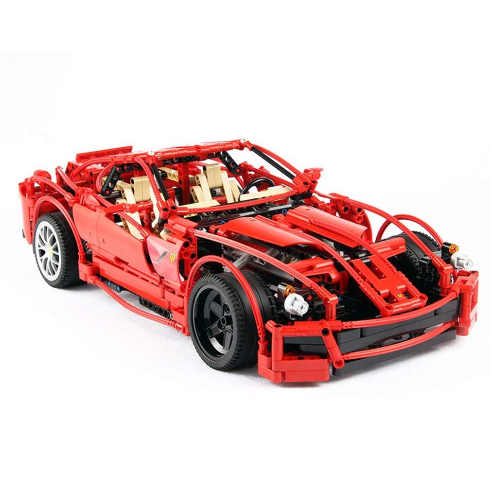 P1033 PCS 3d DIY パズル DIY 1322 PCS ビルディングレンガテクニックおもちゃ, B07QLHR197 アセンブリクラスパズル教育ビルディングブロック子供のおもちゃ子供の休日の贈り物 Red B07QLHR197, ベルト専門店 【 ベルトン 】:adc7f4e6 --- m2cweb.com
