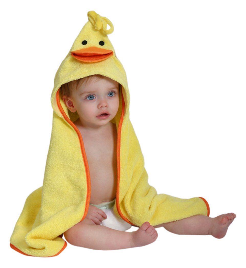 Zoocchini - Baby Towel - Puddles the Duck 150