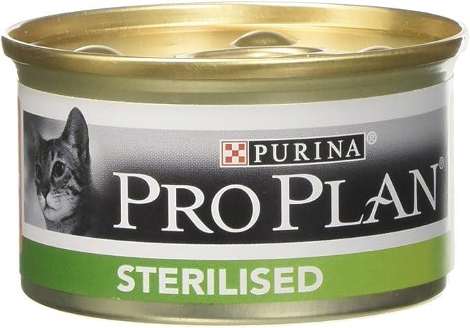 Pro-Plan - Leche esterilized salmón, 85 g: Amazon.es: Productos para mascotas