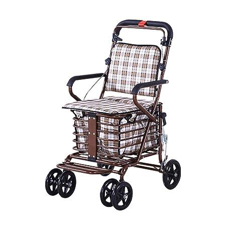 CUI XIA UK Trolley Carro De La Compra para Personas Mayores, con ...