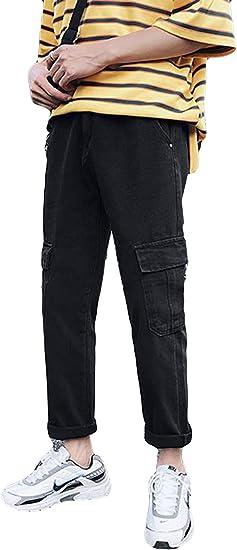 Alhylaデニムパンツ メンズ ビジネス ジーパン ストレッチ ストレート メンズジーンズ Gパンツ カジュアル おしゃれ 水洗い 細身 美脚 キレイめ パンツ